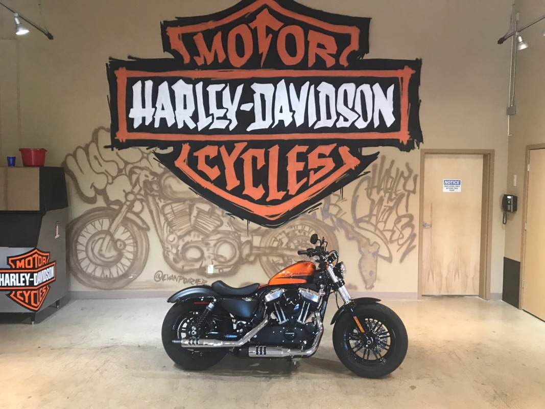 2019 H-D XL 1200X Forty-Eight Sportster