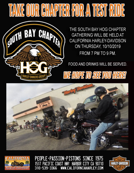 South Bay HOG - Chapter Meeting