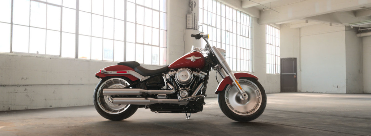 2019 FLFB Softail Fat Boy