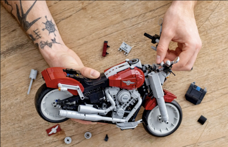 THE LEGO® HARLEY-DAVIDSON® IS HERE