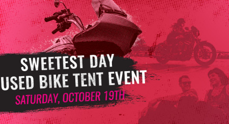 Sweetest Day Used Bike Tent Event