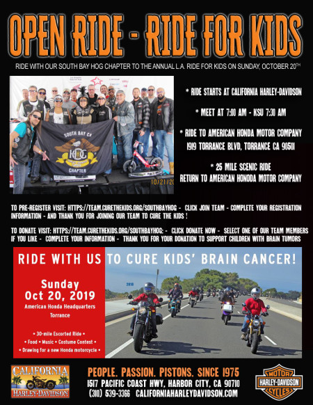 L.A. Ride for Kids - Open Ride