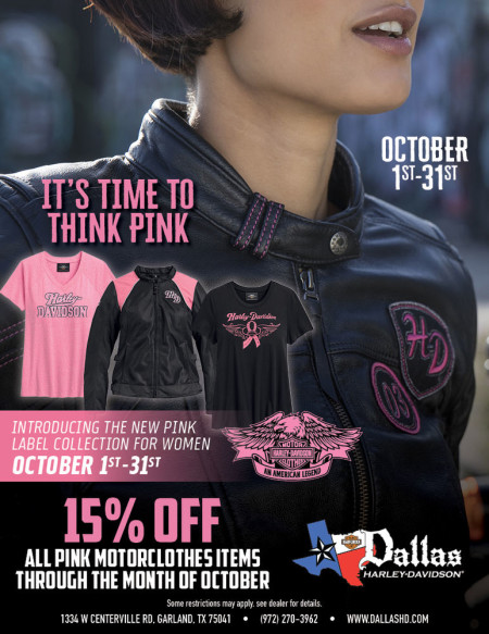 It's time to Think PINK!