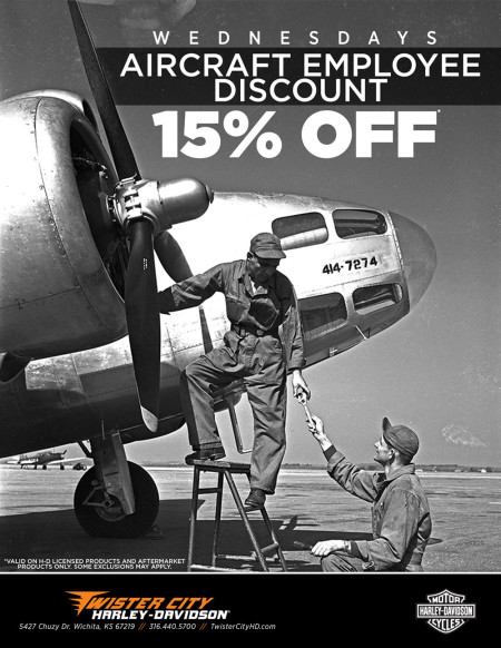 Aircraft Employee Discount