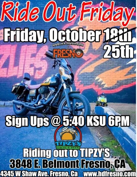 Ride Out Friday