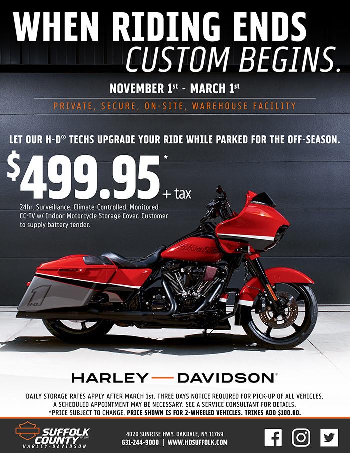 Service department | Suffolk County Harley-Davidson® on
