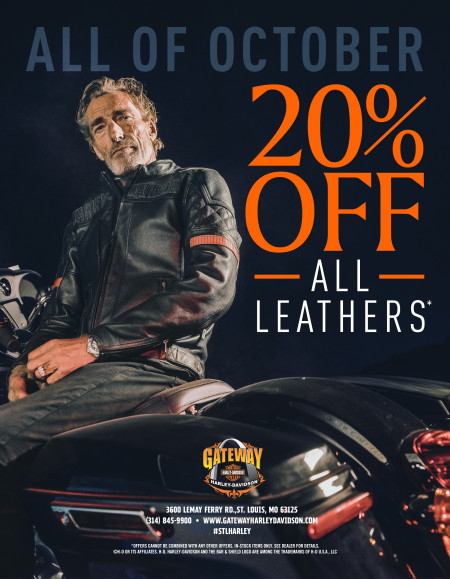 20% off all Leather