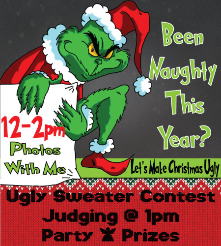 Ugly Sweater Party & The Grinch!