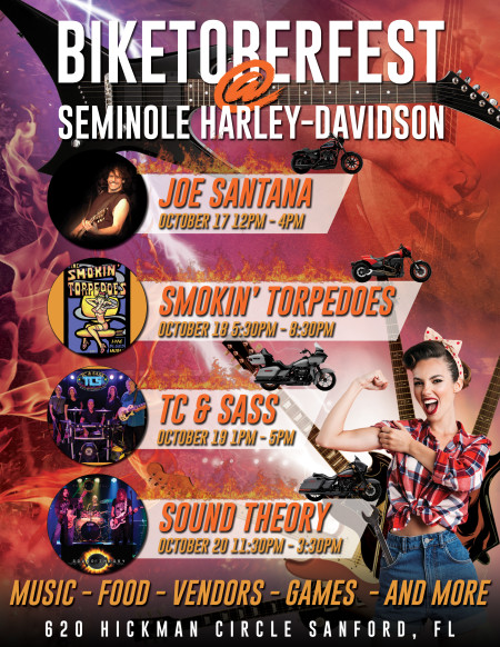 Biketoberfest at Seminole H-D