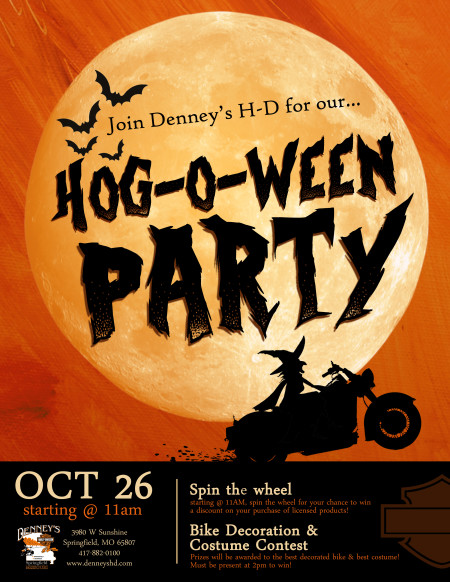 Hog-O-Ween Party