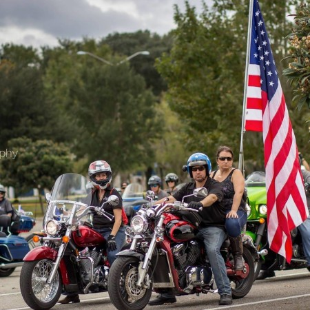 Bikers On Parade - Honoring Local Veterans and First Responders