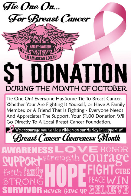 Tie One On For Breast Cancer