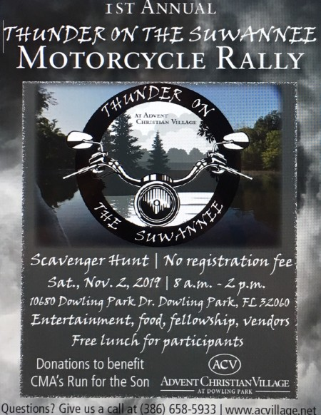 1st Annual Thunder On the Suwannee
