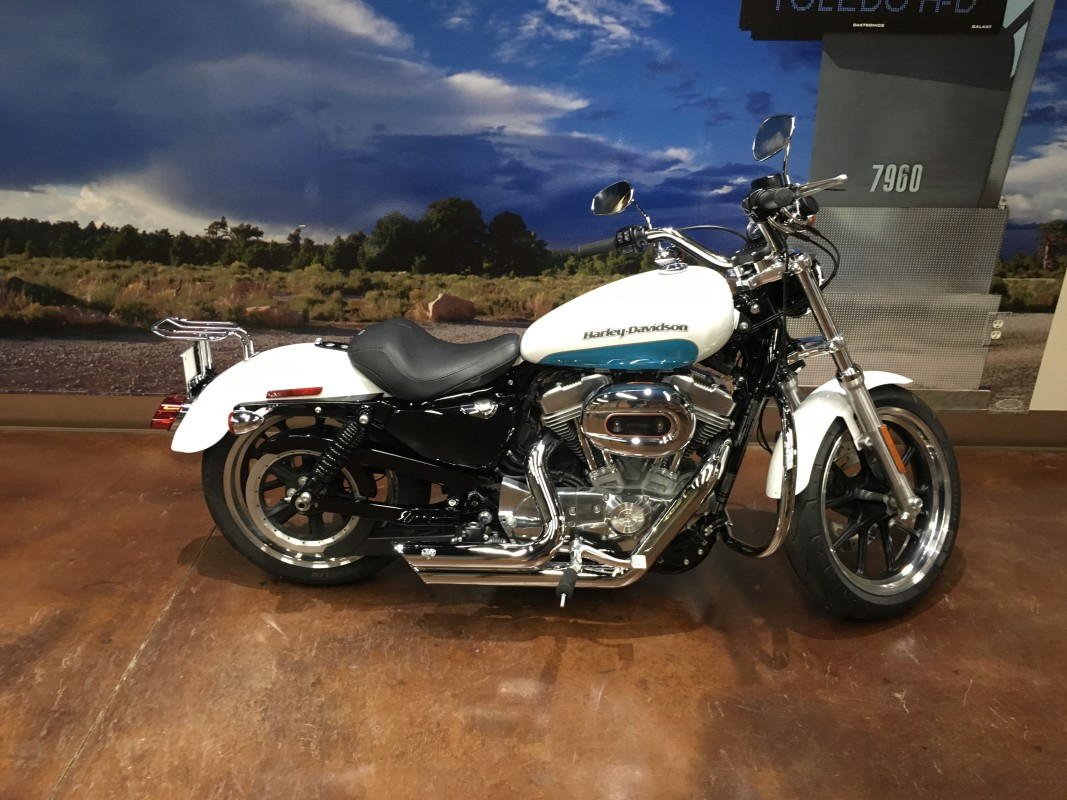 2017 HD Sportster XL 883 Super Low