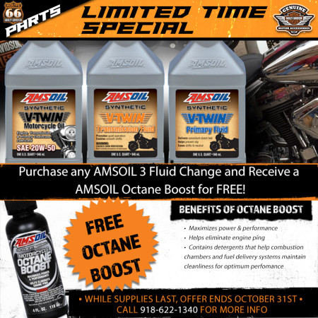 FREE Octane Boost | Route 66 Harley-Davidson® on