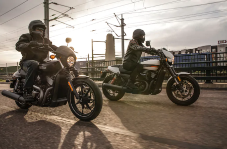 GET 4.49% APR14 AND $0 DOWN ON NEW HARLEY-DAVIDSON STREET® MOTORCYCLES