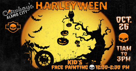 Kid's Harleyween Party