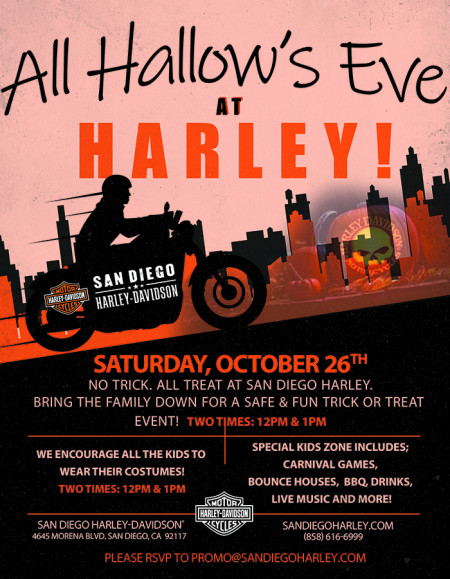 All Hallow's Eve at Harley!