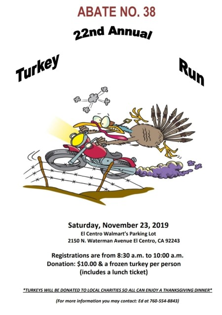 22nd Annual Turkey Run