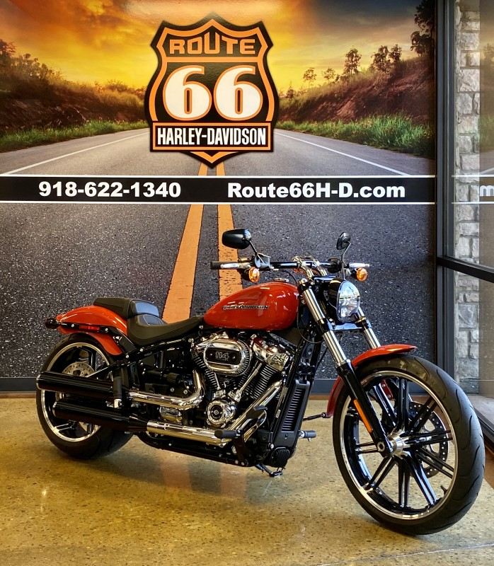 Performance Orange 2020 Harley-Davidson® Breakout® 114 FXBRS