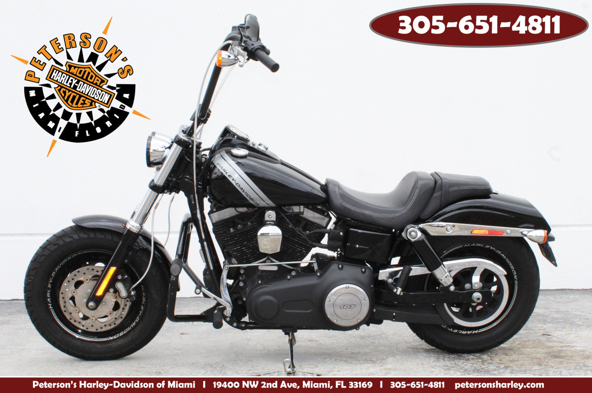 Used 2016 Harley Davidson Fat Bob Motorcycle For Sale Miami Florida