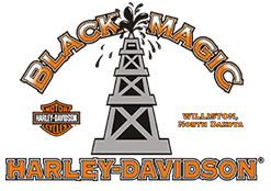 Black Magic Harley-Davidson<sup>®</sup> logo