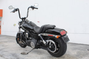 Used 2016 Harley Davidson Fat Bob Motorcycle For Sale Miami Florida thumb 2