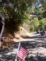 LDR Cambria to Hearst Castle,  ride on the twisties