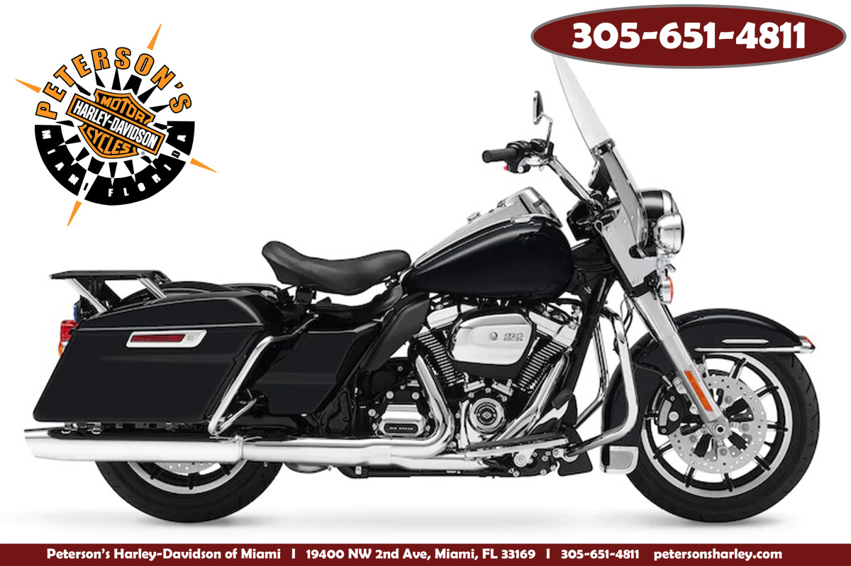 Used 2017 FLHP Road King Police For Sale Miami Florida 33169