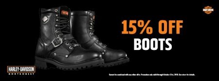 15% OFF BOOTS