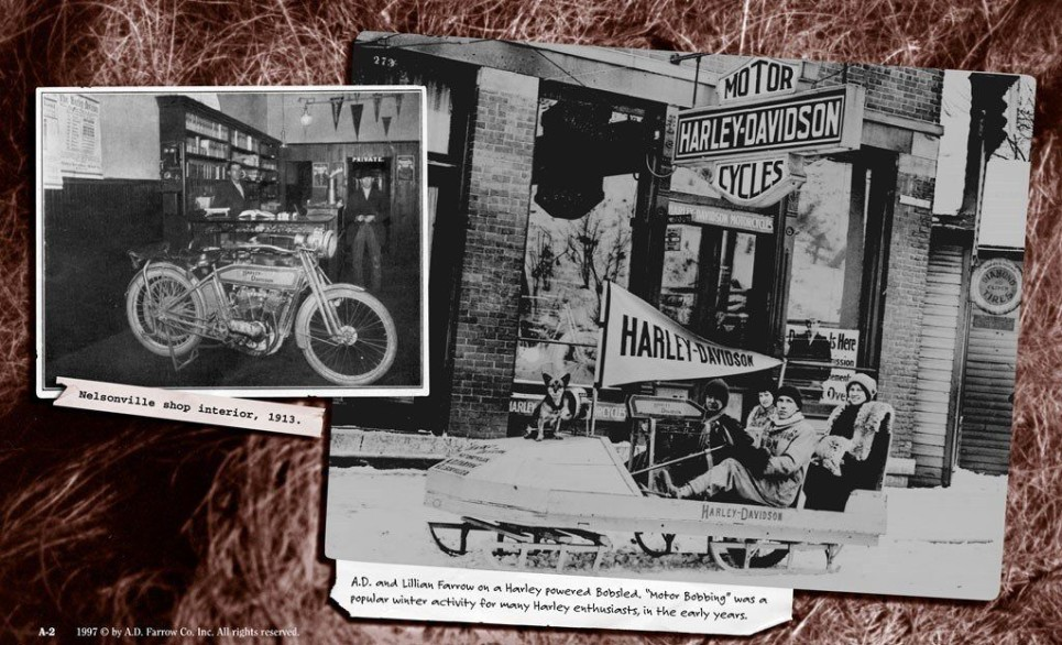 Farrow Harley-Davidson® Has Pages Of History