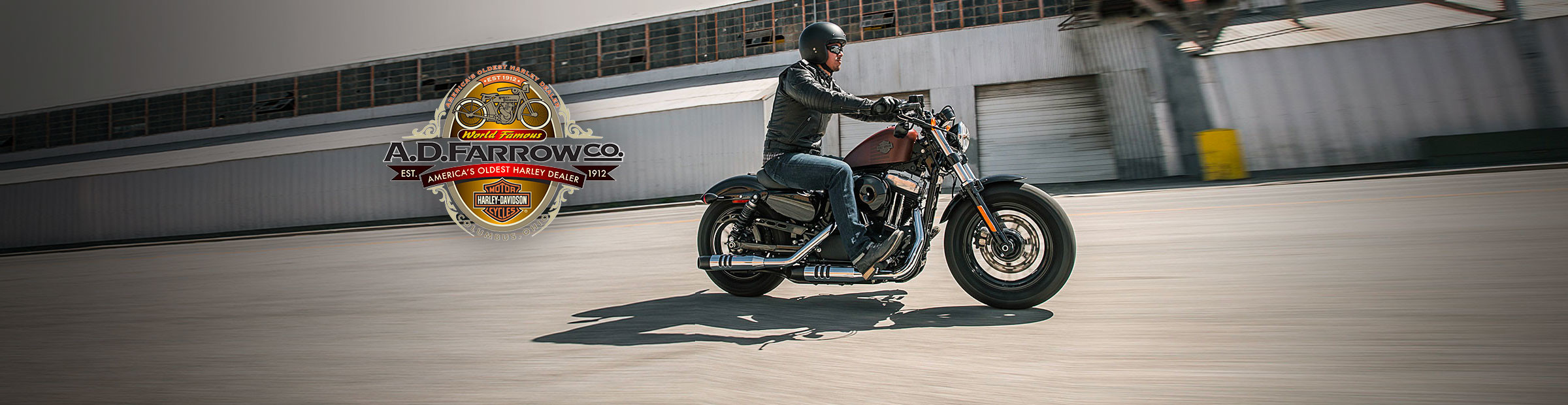 Book a free test ride at A.D. Farrow Co Harley-Davidson®
