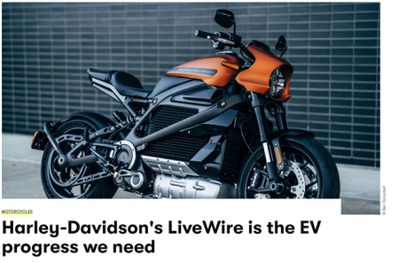 GQ Magazine UK filed their review from the LiveWire press ride