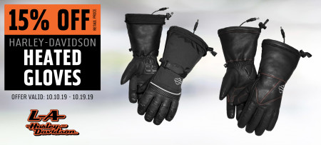 15% Off H-D® Heated Gloves