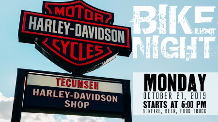 BIKE NIGHT at Tecumseh Harley-Davidson
