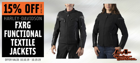 15% Off FXRG® Functional Textile Jackets