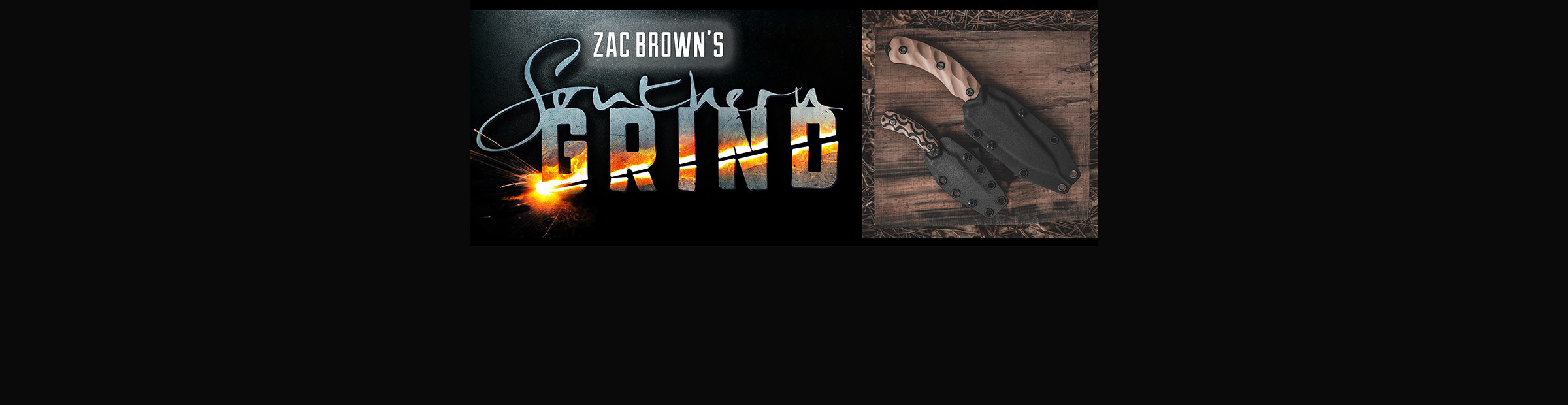 Zac Brown's Southern Grind Knives