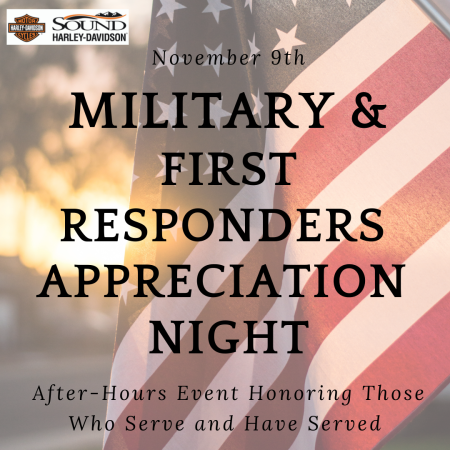 Military & First Responders Appreciation Night