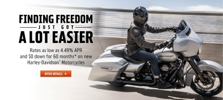 SPECIAL FINANCING RATES AS LOW AS 4.49% APR