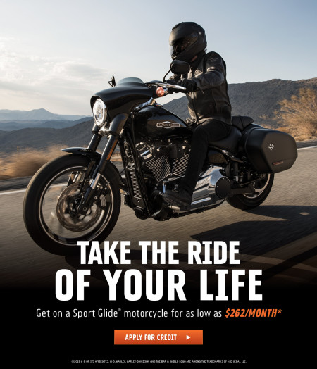 GET A SPORT GLIDE FOR AS LITTLE AS $262 A MONTH