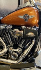 2014 Amber Whiskey HD Fat Boy 103 FLSTF103 thumb 1