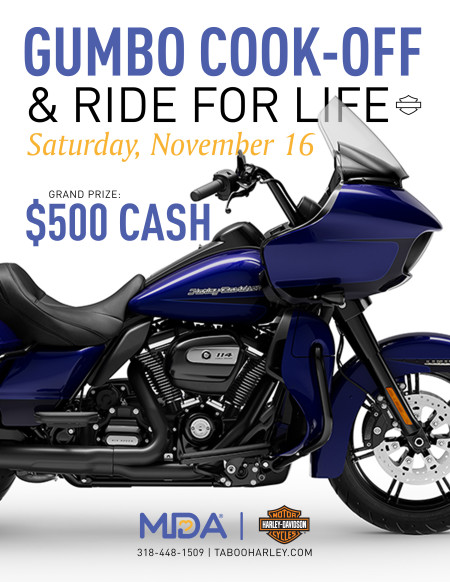 MDA Ride for LIfe & Gumbo Cook-Off