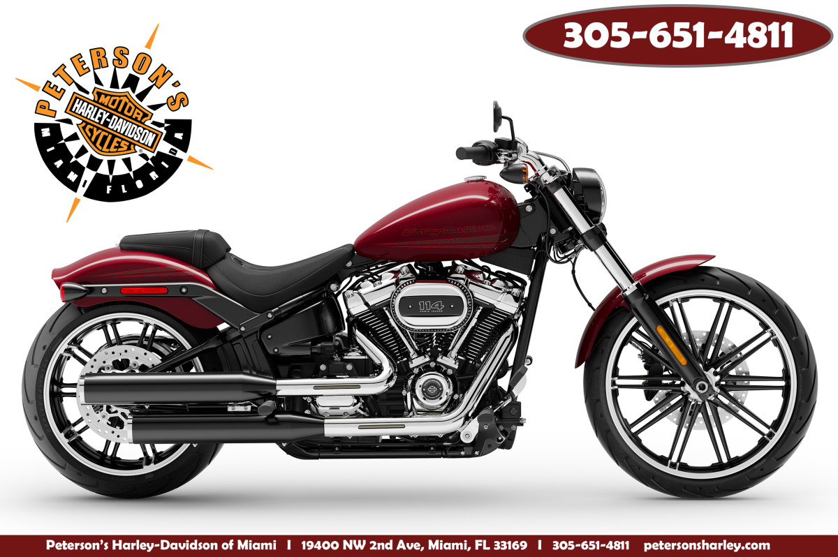 New 2020 Harley Davidson FXBRS Breakout 114 For Sale Miami Florida
