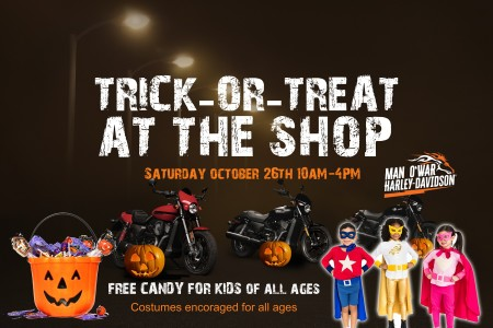 Trick-Or-Treat at the Shop