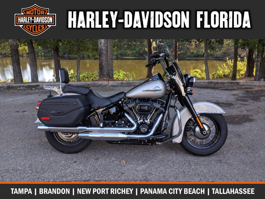 Harley-Davidson<sup>®</sup> 2018 Heritage Classic 114