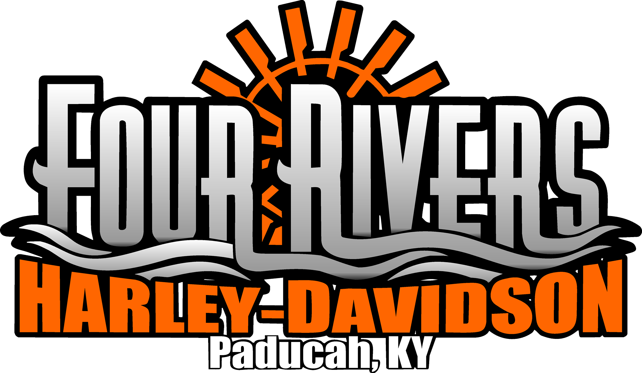 Four Rivers Harley-Davidson® logo