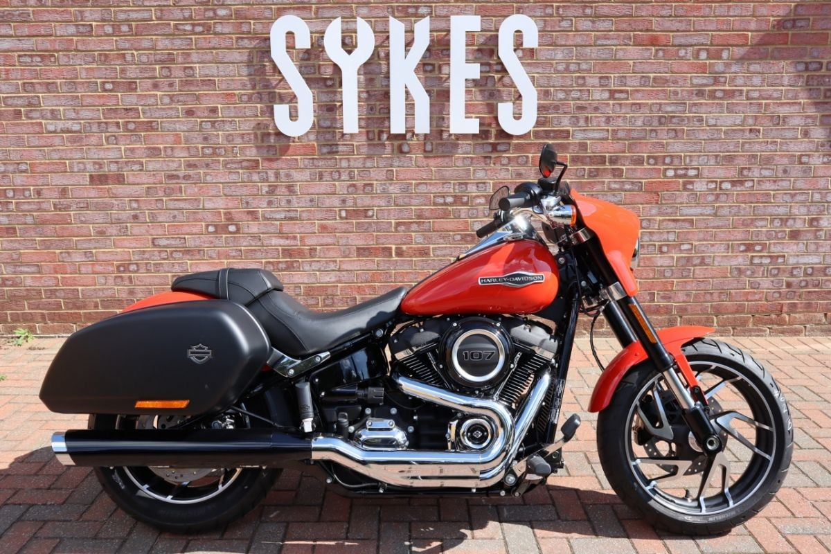 NEW 2020 Harley-Davidson FLSB Softail Sport Glide in Performance Orange