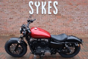 NEW 2019 XL1200X Sportster Forty-Eight, in Wicked Red and Twisted Cherry thumb 0