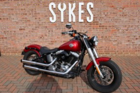 2012 Harley-Davidson Softail Slim, in Mysterious Red thumb 3