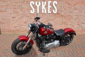 2012 Harley-Davidson Softail Slim, in Mysterious Red thumb 1